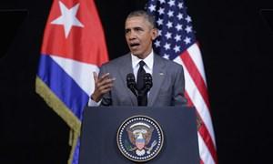 Tổng thống Obama và thông điệp gửi người dân Cuba