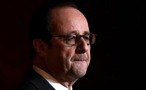 Tổng thống Pháp Hollande từ bỏ tham vọng tái cử