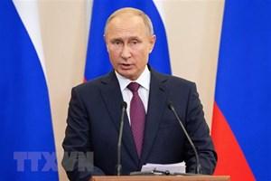 Tổng thống Putin ký nghị định về tổ chức