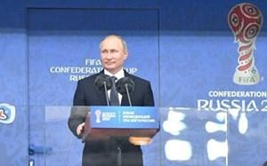 Tổng thống Putin tin bóng đá mang đến đoàn kết