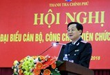 Tổng Thanh tra Chính phủ chỉ thị siết chặt kỷ luật, kỷ cương công vụ
