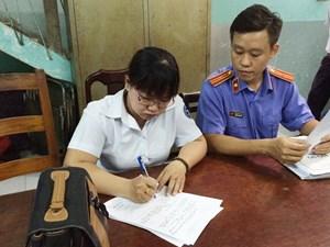 TP Hồ Chí Minh: Bắt tạm giam nguyên chấp hành viên chiếm đoạt tài sản