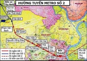 TP Hồ Chí Minh: Chấp thuận kế hoạch bồi thường tái định cư dự án tuyến metro số 2