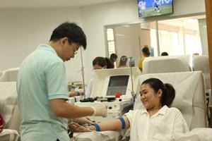 TP Hồ Chí Minh: Đông đảo người dân tham gia hiến máu vì bệnh nhi ung thư