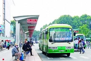 TP Hồ Chí Minh: Giá vé xe buýt đồng loạt tăng