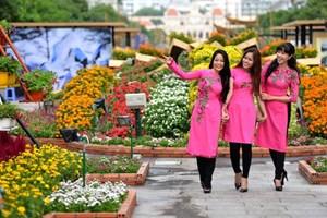 TP Hồ Chí Minh: Hội hoa Xuân Kỷ Hợi 2019 kéo dài 12 ngày