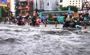 TP Hồ Chí Minh: Kiểm soát ngập và kẹt xe bằng điện thoại di động
