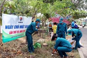 TP Hồ Chí Minh: Ra quân thực hiện Ngày Chủ nhật xanh