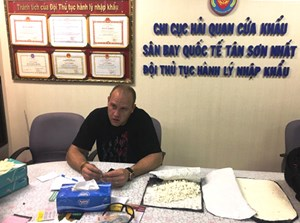 TP Hồ Chí Minh: Thu giữ 1,7 kg cocain