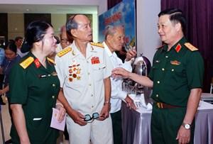 TP Hồ Chí Minh:Gặp mặt cán bộ cao cấp quân đội nghỉ hưu