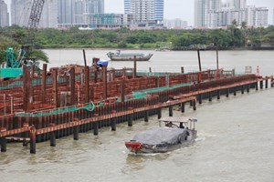 TP Hồ Chí Minhlập đoàn kiểm tra dự án chống ngập 10 ngàn tỷ đồng