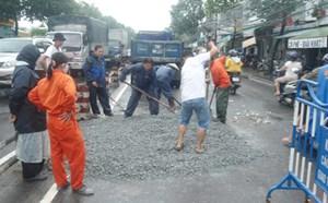 TP Nha Trang xuất hiện 'hố tử thần'