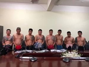 TP HCM:Băng giang hồ Vũ 'bông hồng' sa lưới
