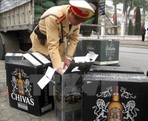 TP.Hồ Chí Minh: Thu giữ gần 1.500 chai rượu ngoại không rõ nguồn gốc