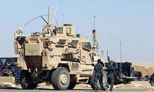 Trận chiến tại thành trì của IS bắt đầu