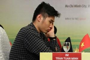 Trần Tuấn Minh gây bất ngờ lớn tại giải cờ vua châu Á