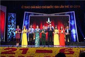 Trao Giải Báo chí Quốc gia lần thứ XI cho 95 tác phẩm xuất sắc