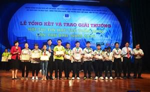 Trao giải Hội thi Tin học trẻ toàn quốc lần thứ XXII