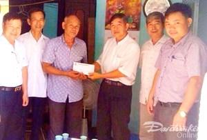 Trao hỗ trợ làm nhà mới cho nạn nhân chất độc da cam/dioxin