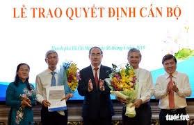 Trao quyết định phê chuẩn hai Phó Chủ tịch UBND TP HCM