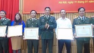 Trao thưởng cuộc thi báo chí về chủ đề 'Vì An ninh Tổ quốc và bình yên cuộc sống'