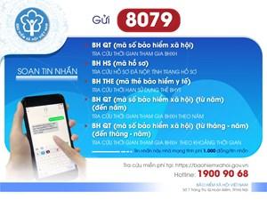 Triển khai ứng dụng tra cứu BHXH, BHYT, BH thất nghiệp qua tin nhắn: Nhiều tiện ích