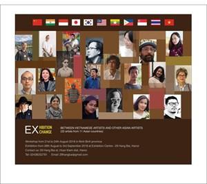Triển lãm, giao lưu nghệ sĩ Việt Nam với nghệ sĩ các nước châu Á
