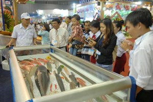 Triển lãm quốc tế ngành thuỷ sản Việt Nam