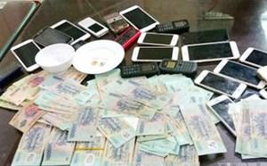 Triệt xóa ổ nhóm đánh bạc qua mạng 500 tỷ đồng