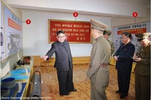 Triều Tiên công bố hình ảnh tên lửa chưa từng xuất hiện