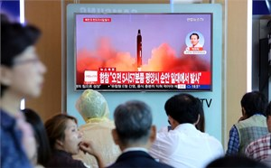 Triều Tiên phóng tên lửa qua không phận Nhật Bản