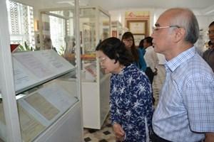 Trưng bày chuyên đề 'Quốc hội Việt Nam đồng hành cùng dân tộc'