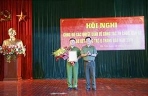 Trung tướng Phạm Quốc Cương được bổ nhiệm Tư lệnh Bộ Tư lệnh Cảnh sát cơ động