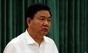 Trung ương quyết định cho ông Đinh La Thăng thôi chức Ủy viên Bộ Chính trị