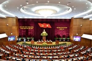 Trung ương thảo luận về hoàn thiện thể chế kinh tế thị trường định hướng XHCN