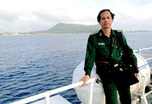 Trung tá - nhà báo Lê Văn Chương: Điều cần thiết là góp phần bảo vệ sinh mạng ngư dân