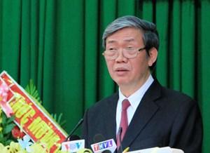 """Trưởng Ban Tuyên giáo Trung ương Đinh Thế Huynh: """"Tạo môi trường thuận lợi, thông thoáng thu hút nhà đầu tư…"""""""