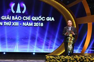 Trao giải báo chí Quốc gia 2018