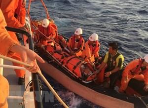 Khẩn trương hỗ trợ cứu hộ, cứu nạn các sự cố trên biển