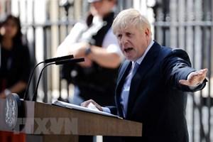 Tân Thủ tướng Anh cam kết thực hiện Brexit đúng hạn chót 31/10