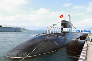 [ẢNH] Lữ đoàn Tàu ngầm 189 - lực lượng nòng cốt bảo vệ chủ quyền biển, đảo