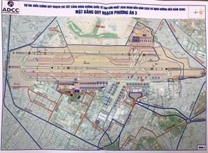 Tuần tới phê duyệt phương án mở rộng sân bay Tân Sơn Nhất