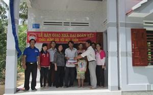 Tuy An (Phú Yên): Xây 12 nhà Đại đoàn kết cho các hộ nghèo