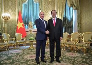 Tuyên bố chung về kết quả chuyến thăm chính thức LB Nga của Chủ tịch nước