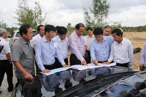 Tuyến đường chiến lược kết nối biển với đất liền và sân bay Chu Lai