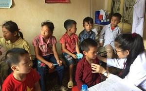 Tuyên Quang khám và tư vấn dinh dưỡng cho hơn 500 trẻ vùng cao