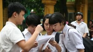 Tuyển sinh lớp 10 Hà Nội: Đề thi môn Toán
