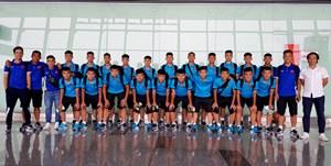 U16 Việt Nam lên đường tham dự Giải vô địch U16 Đông Nam Á 2018
