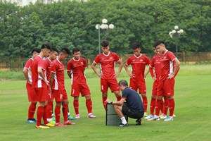 U19 Việt Nam sang Qatar dự giải Tứ hùng