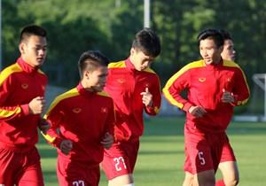 U20 Việt Nam chuẩn bị cho trận gặp Honduras
